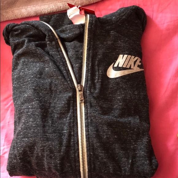 Nike Tops - Grey Nike jacket